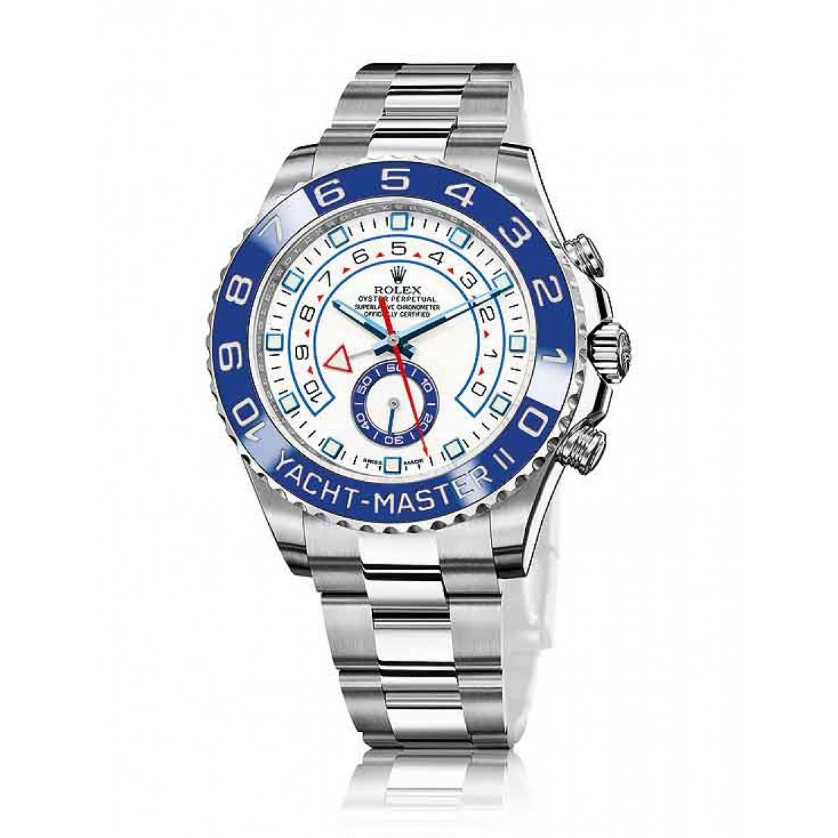 7dc2f93a99c Relógio Réplica Rolex Oyster Yacht Master II