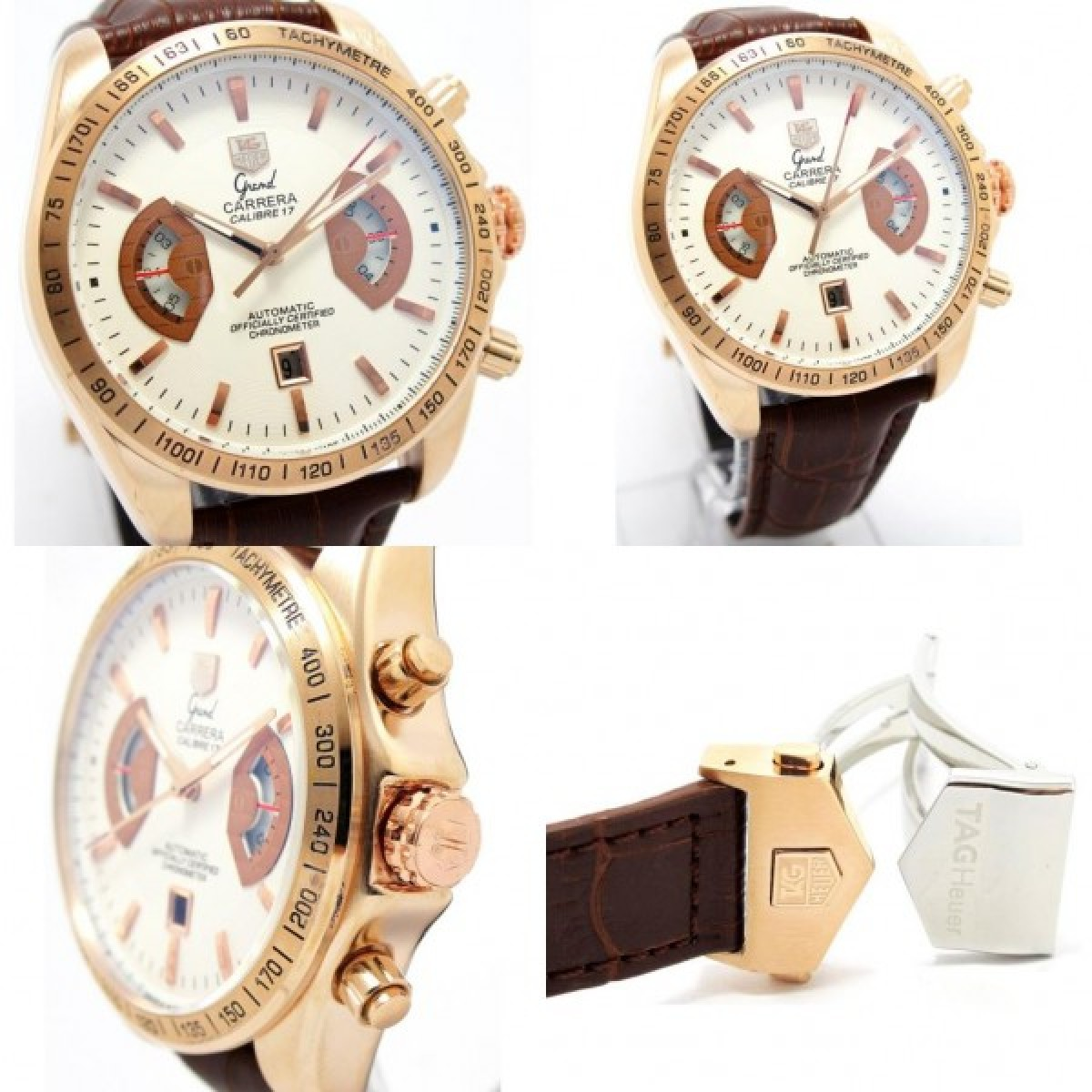 36f553b9326 Relógio Réplica Tag Heuer Carrera Calibre 17
