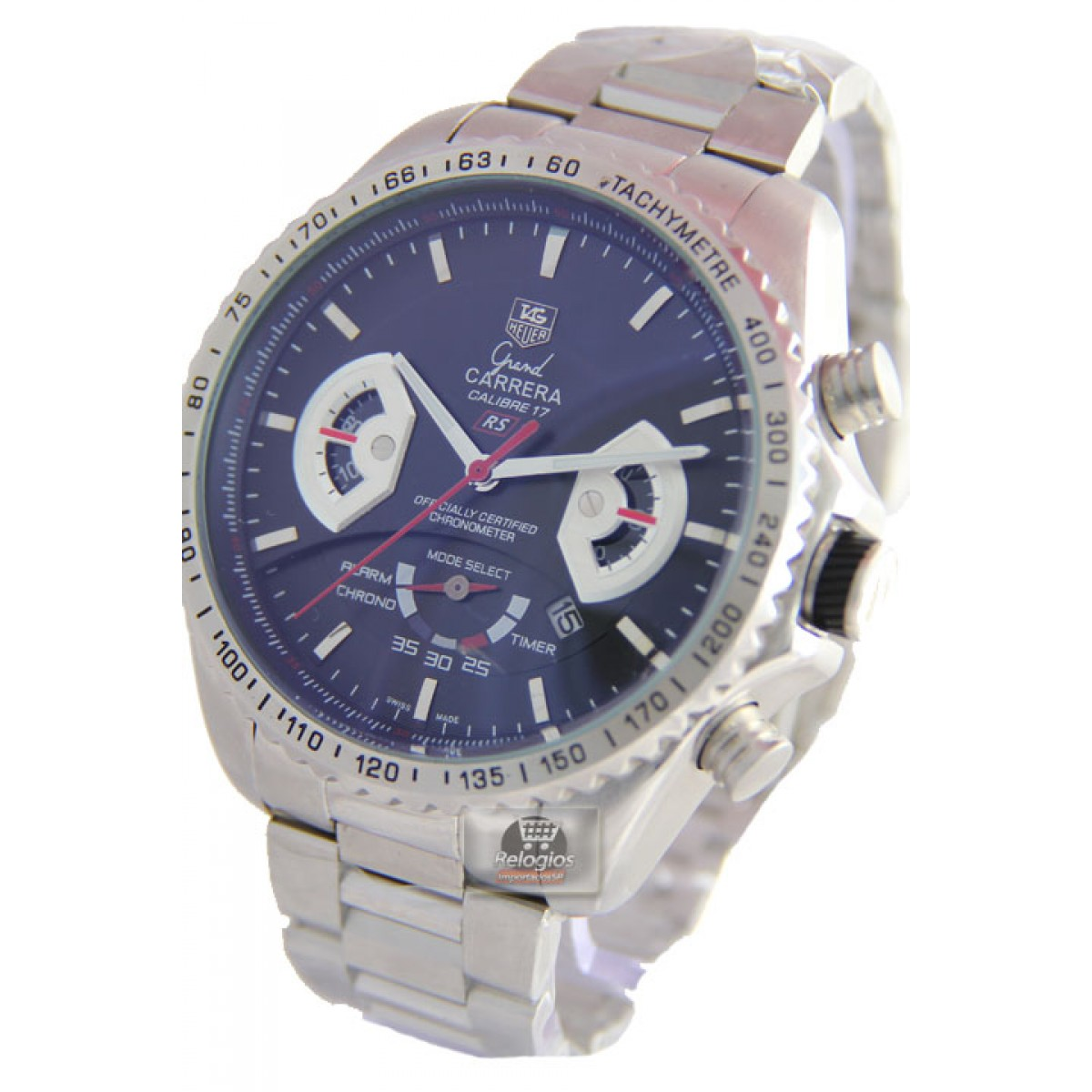 62149886eef Relógio Réplica Tag Heuer Grand Carrera 17 Rs3