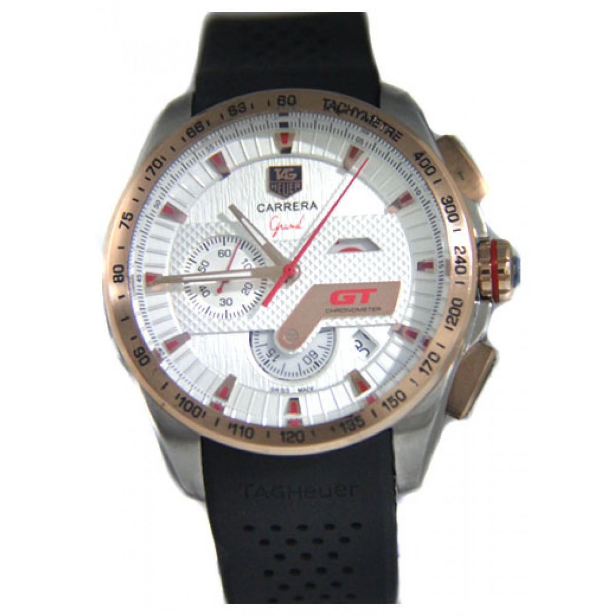 29afa21b881 Espiar · Relógio Réplica Tag Heuer Grand Carrera GT