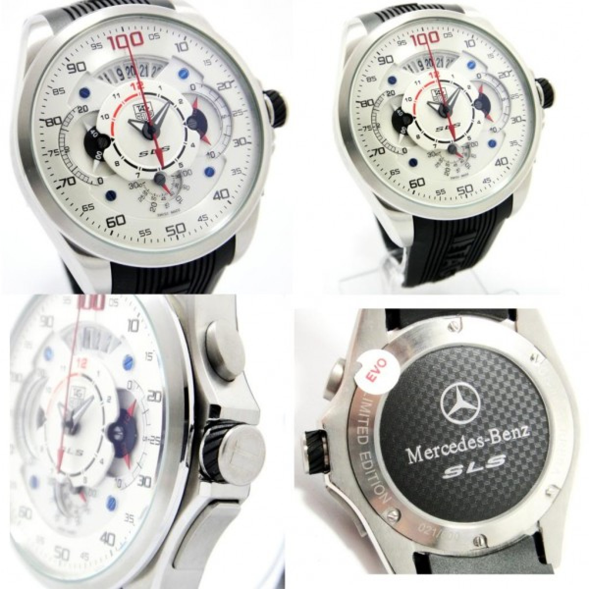 Rel gio r plica tag heuer carrera mercedez slr for Tag heuer mercedes benz sls amazon