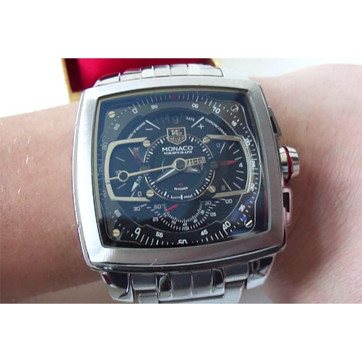0ffddd3f707 replica de relógio Tag Heuer Monaco miKrograph
