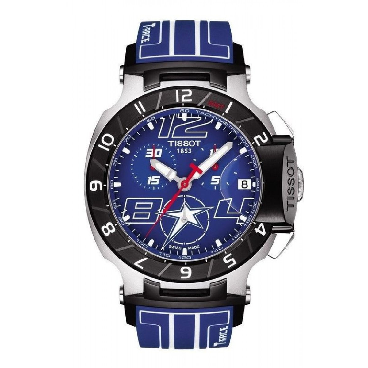 180ec3debd6 Relógios Réplica Tissot Moto Gp T-Racer Limited Blue