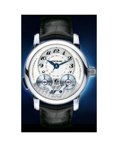 54f50356865 Relógio Réplica Montblanc Star Nicolas Rieussec Platinum