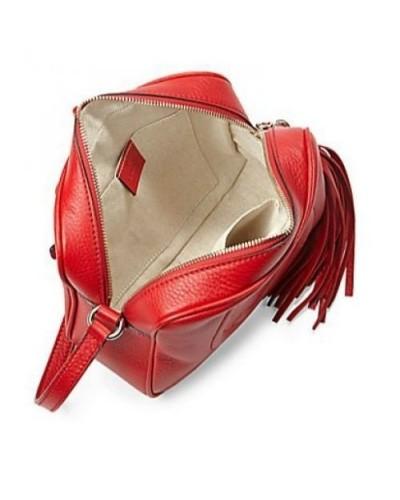 4f51d062127 Réplica de Bolsa Gucci Soho Disco Vermelha