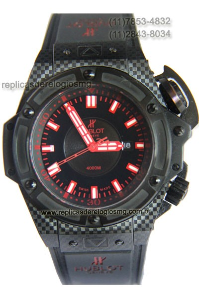 Relógio Réplica Hublot King Power Oceanographic 4000M