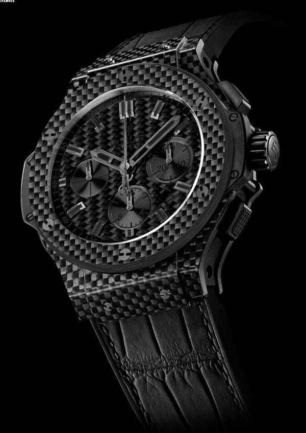 Relógio Réplica Hublot Geneve Carbom