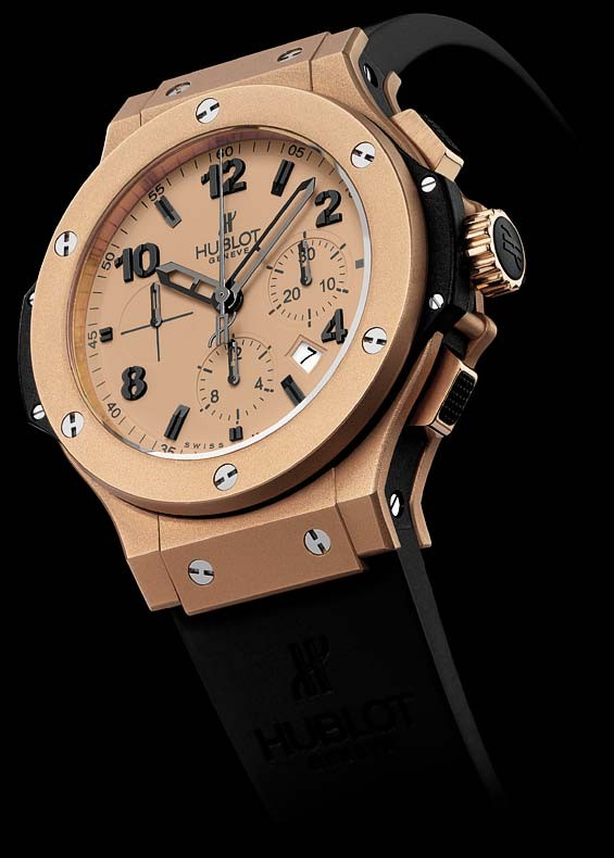 Relógio Réplica Hublot Geneve Gold