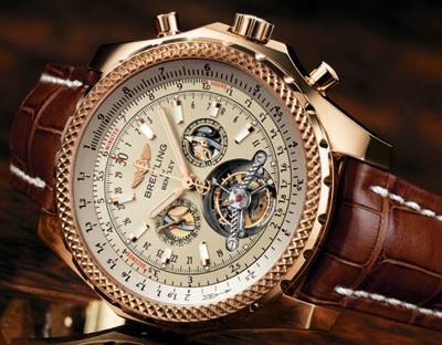 Relógio Breitling Mulliner Turbillon Bentley