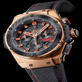 Relógio Réplica Hublot F1 Red Gold