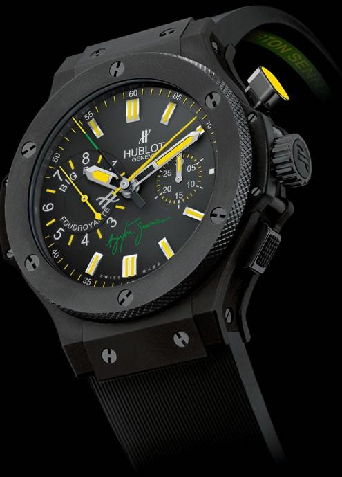 Relógio Réplica Hublot Ayrton Senna