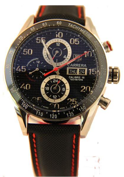 Réplica Relógio Tag Heuer Carrera Calibre 16 Ceramica