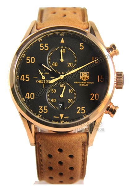 Relógio Réplica Tag Heuer Carrera Calibre 1887 Space X