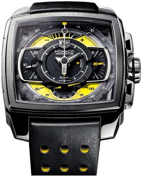 Relógio Réplica Tag Heuer Mikrograph Yellow