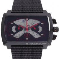 Relógio Réplica Tag Heuer Monaco Black Red