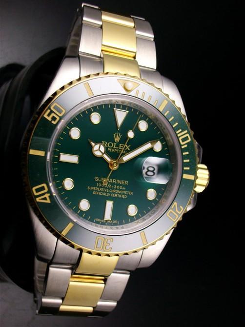 Relógio Réplica Rolex Submariner Dark Green Misto