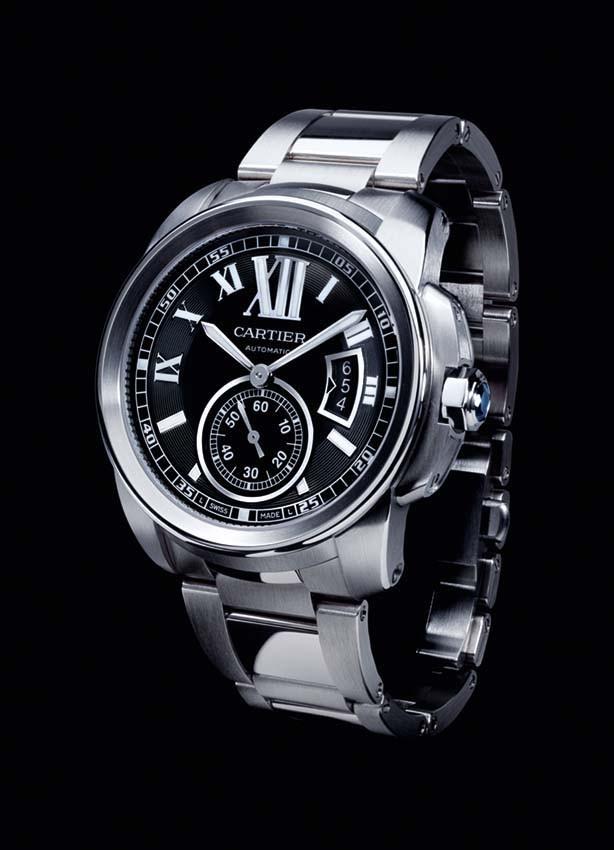 Relógio Cartier Calibre Aço