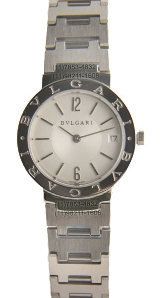Relógio Bulgari Moeda