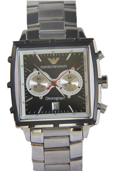 Relógio Armani Chronograph Aço