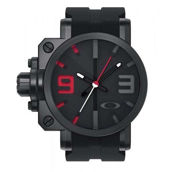 Relógio Réplica Oakley Gearbox Red Black Edition
