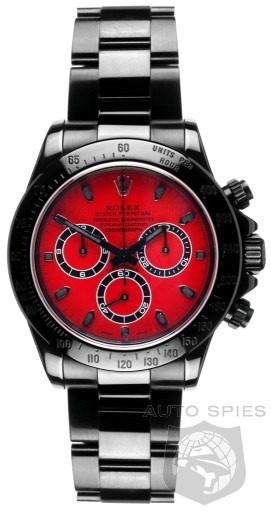 Relógio Réplica Rolex Oyster Perpetual Red