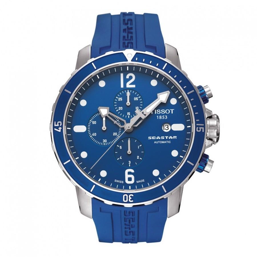 Relógio Réplica Tissot Seastar100 Blue