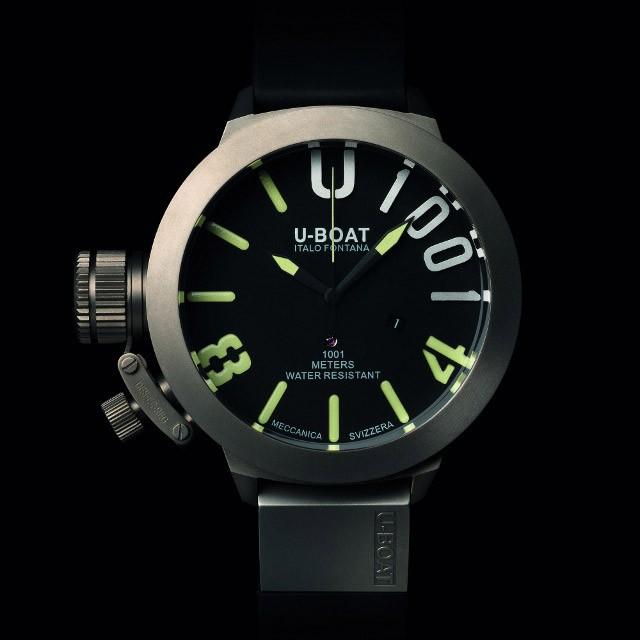 6cee5ccd4af Relógio Réplica U-Boat U-1001