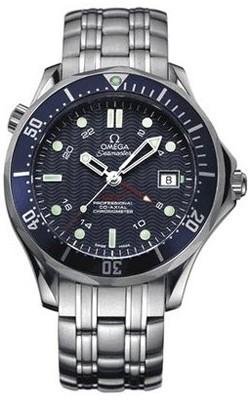 Relógio Réplica Omega Seamaster GMT II 01