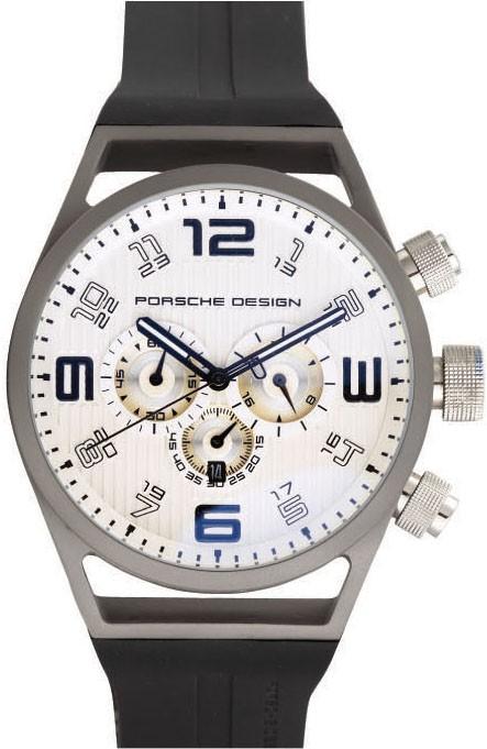 Relógio Réplica Porche Design World Timer White