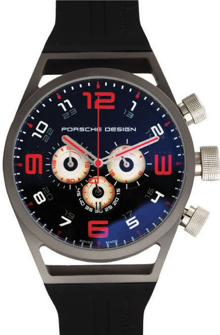 Relógio Réplica Porche Design World Timer Red