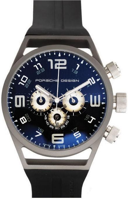 Relógio Réplica Porche Design World Timer Black