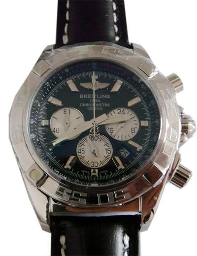Relógio Breitling Chronomath Certifie Preto