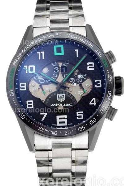 Relógio Réplica Tag Heuer Mp4-12C Verde