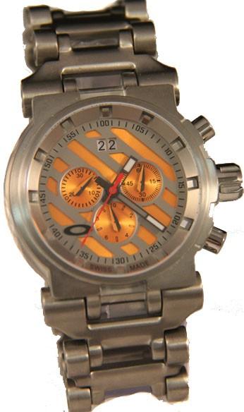 Relógio Oakley Hollow Point Titanium OrangeRéplica