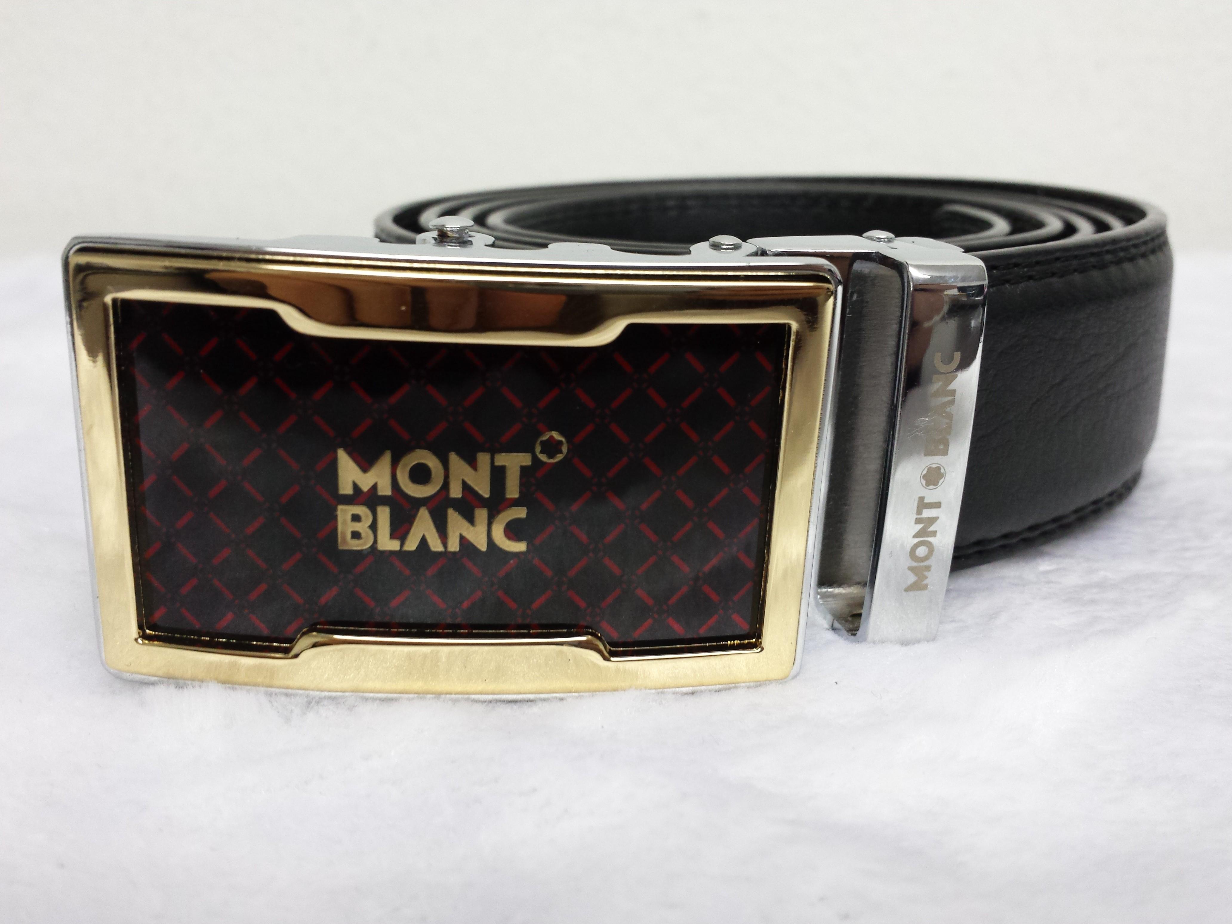 Cinto Mont Blanc Dourado