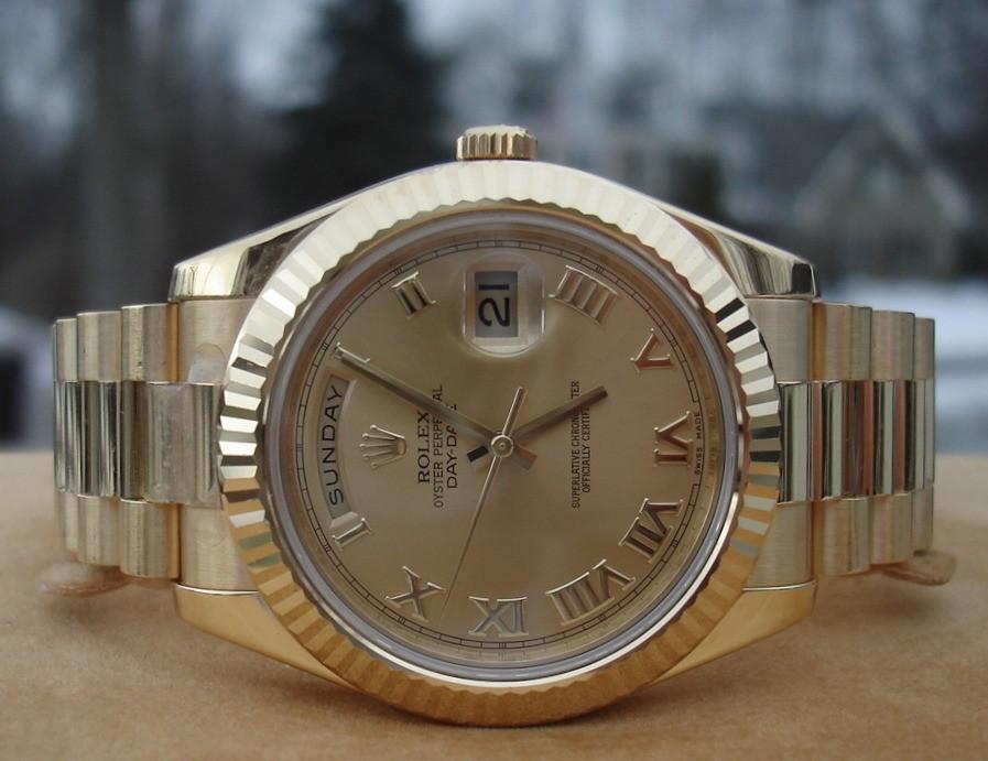 Relógio Réplica Rolex Day Date Presidente