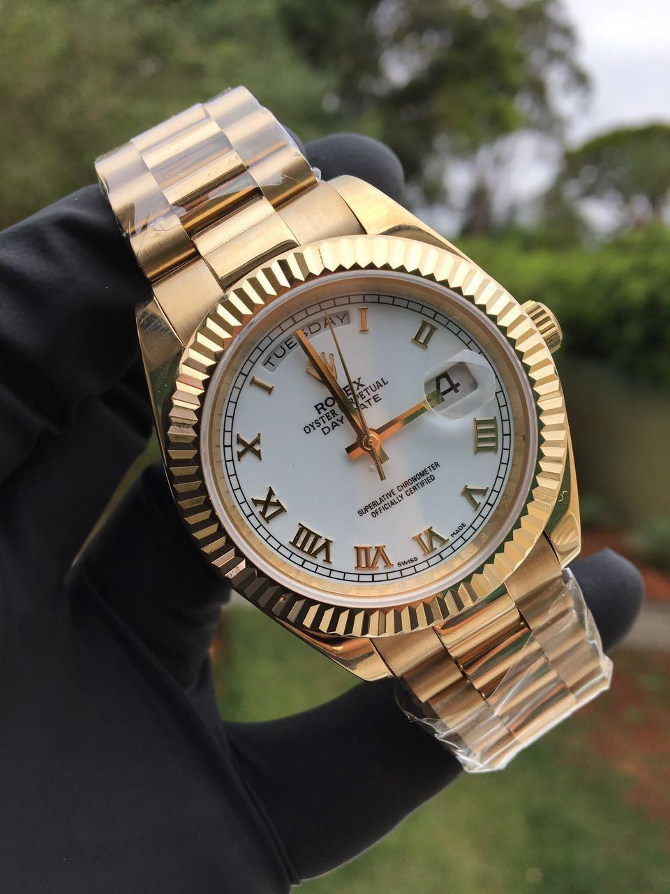 Réplica de Relógio Rolex Day - Date