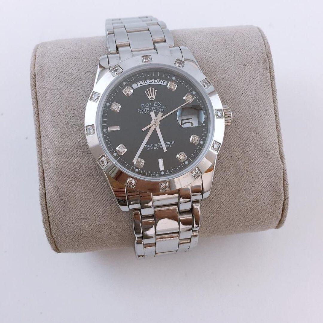 Réplica de Relógio Rolex DayDate Pedra 2