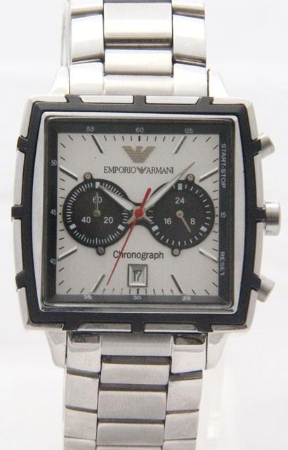 Relógio Réplica Armani Stell Black ( Promoção )