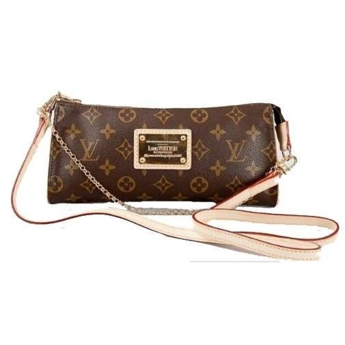Réplica de Bolsa Louis Vuitton Eva Clutch Monogram
