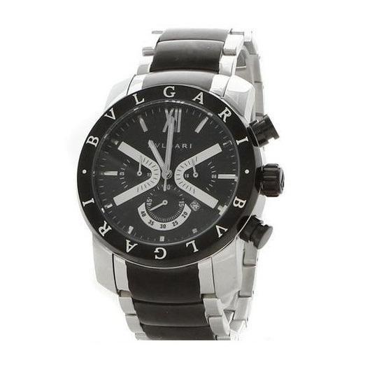 Relógio Réplica Bulgari  Irom Man Black Limited
