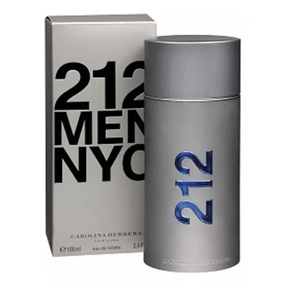 212 Men Carolina Herrera Eau de Toilette - Perfume Masculino 100ml