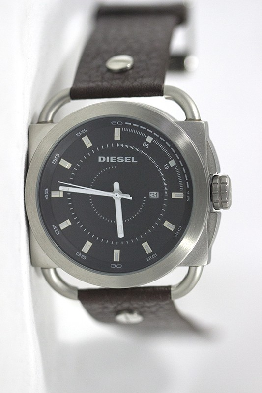 Relógio Réplica Diesel The Only Brave Preto Marrom ( PROMOÇÃO )
