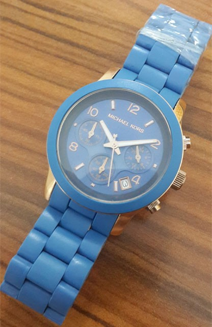 Relógio Réplica Michael Kors Azul
