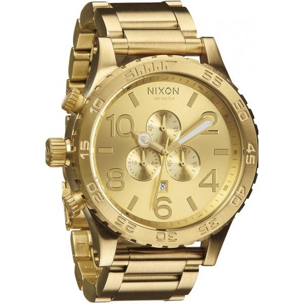 Relógio Réplica Nixon The 51-30 Dourado