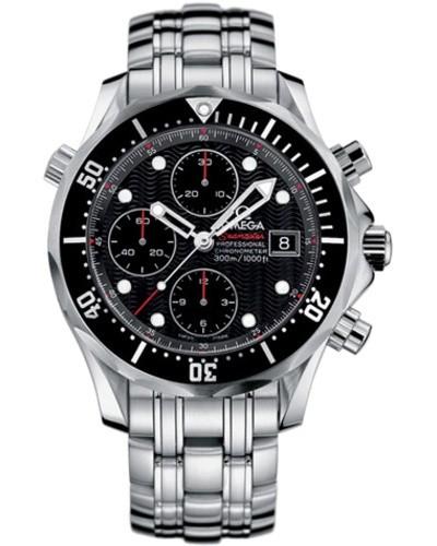 Relógio Réplica Omega Seamaster Professional Black