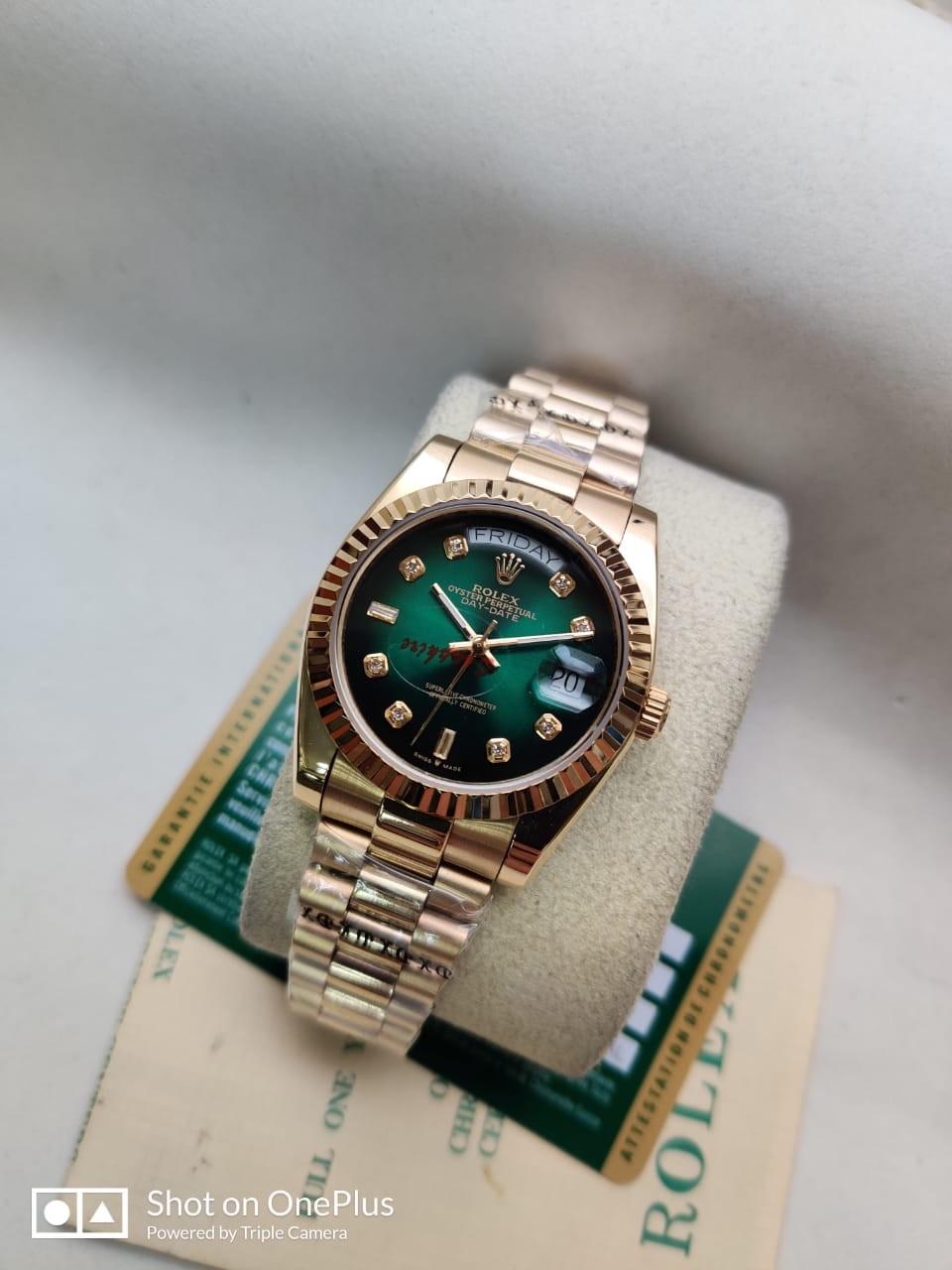 Réplica de Relógio Oyster Perpertual DateJust