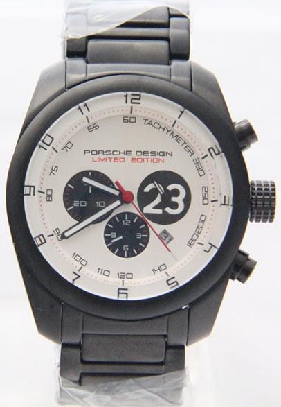 Relógio Réplica Porsche Design Branco Preto ( Promoção )