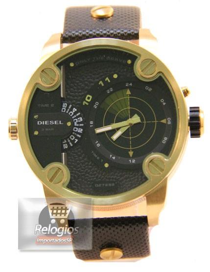 Diesel Dz7222 Radar Gold Black