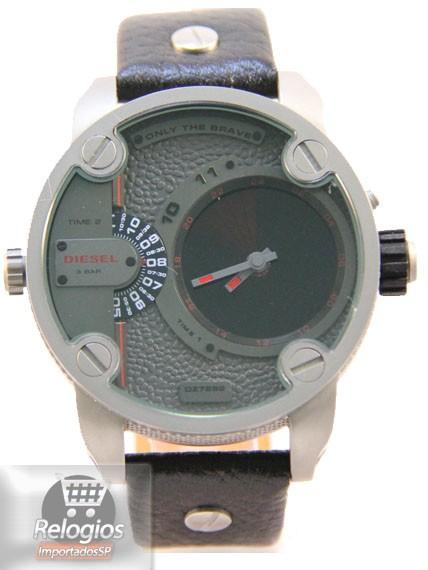 Relógio Réplica Diesel Dz7222 Radar Titanium Black